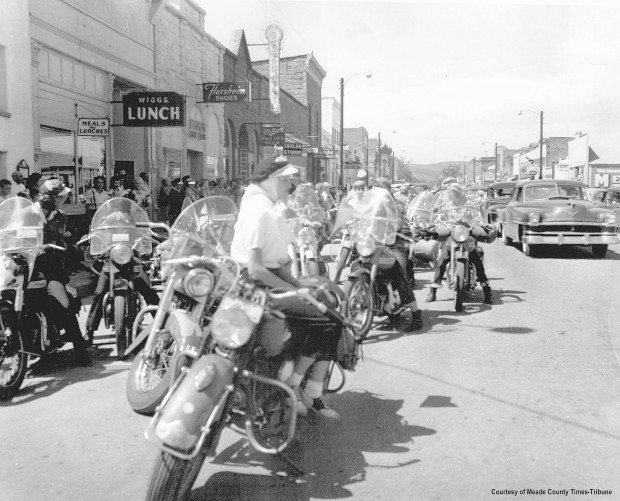 Historical Sturgis Motorcycle Rally Images